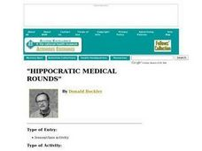 Hippocratic Medical Rounds Lesson Plan