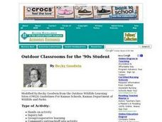 Outdoor Classroom's for the '90s Student Lesson Plan