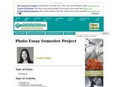 Photo Essay Semester Project Activities & Project