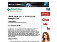 Black Death Biology Lesson Plan