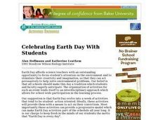 Celebrating Earth Day With Students Lesson Plan