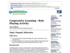 Organci Molecules Lesson Plan