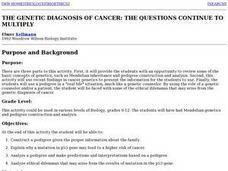 The Genetic Diagnosis of Cancer: The Questions Continue to Multiply Lesson Plan
