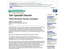 The Spanish Omelet Lesson Plan