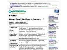 Where Should We Place Archaeopteryx? Lesson Plan