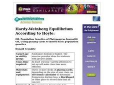 Hardy-Weinberg Equilibrium According to Hoyle: OR, Population Genetics or Platypapyrus foursuitii Lesson Plan