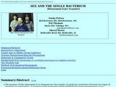 Sex and the Single Bacterium Lesson Plan