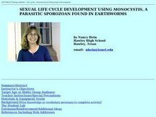 SEXUAL LIFE CYCLE DEVELOPMENT USING MONOCYSTIS Lesson Plan