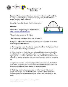 """Bridge Designer"" Lab Lesson Plan"