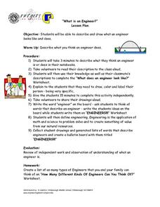 """What is an Engineer?"" Lesson Plan"