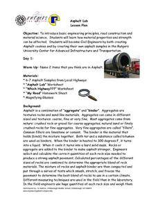 Asphalt Lab Lesson Plan