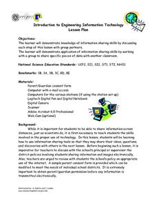 Introduction to Engineering Information Technology Lesson Plan