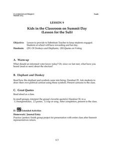 Kids in the Classroom on Summit Day Lesson Plan