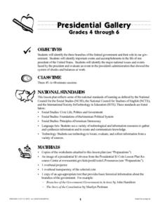 Presidential Gallery Lesson Plan