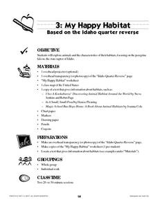 My Happy Habitat Lesson Plan