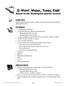 Wow! Water, Trees, Fish! Lesson Plan
