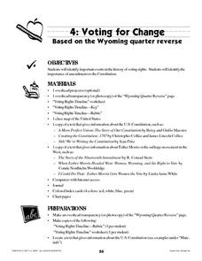 Voting For Change Lesson Plan