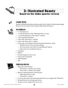Illustrated Beauty Lesson Plan