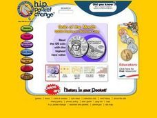 Coin Trading Cards Lesson Plan