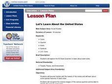 Let's Learn About the United States Lesson Plan