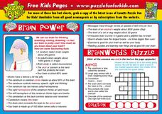 Brain Power Lesson Plan