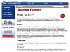 What's Her Story? Lesson Plan