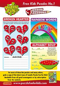 Brain Teasers Worksheet
