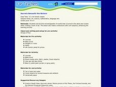 Secrets Beneath the Waters Lesson Plan
