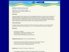 Workers on Sea and on Land Lesson Plan