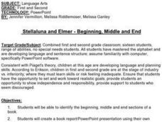 Stellaluna and Elmer - Beginning, Middle and End Lesson Plan