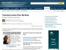 """My Body"" Lesson Plan"