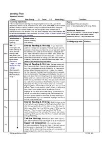 Story Structure: Sequence of Events Lesson Plan for 3rd