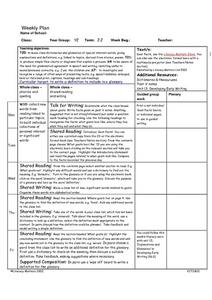 Class Dictionaries Lesson Plan