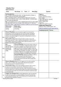 Cops and Robbers Lesson Plan