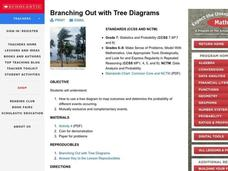 Branching Out with Tree Diagrams Lesson Plan