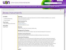 Brass Instruments Lesson Plan