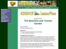 The Beautiful and Yummy Garden Lesson Plan