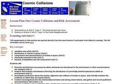 Cosmic Collisions and Risk Assessment Lesson Plan