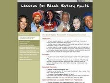 The Civil Rights Movement: /Compassion in Action Lesson Plan