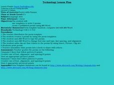 Poetry with Pizzazz Lesson Plan
