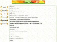Music Maker Lesson Plan