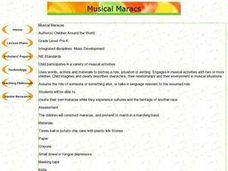 Musical Maracas Lesson Plan