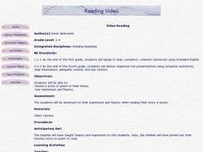 Reading Video Lesson Plan