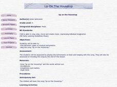 Up On the Housetop Lesson Plan