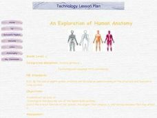 An Exploration of Human Anatomy Lesson Plan