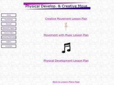 Movement with Music Lesson Plan