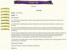 Cover Up Lesson Plan