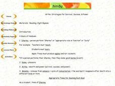 Hindu Artha: Strategies for Survival, Success, & Power Lesson Plan