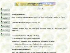Reading for Fluency Lesson Plan