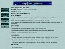 Mapquest Distances Lesson Plan
